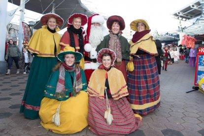 Kerstmarkt Spijkenisse 2013